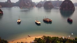 Halongbucht Vietnam. UNESCO Weltnaturerbe . Must See bei Indochina Reisen